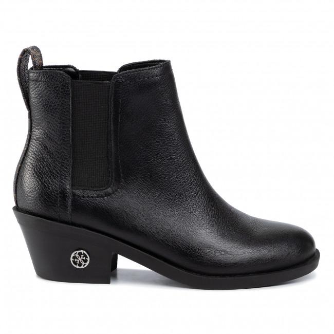 Magasított cipő GUESS - Macada FL8MAC FAL10 BLACK/BROWN - Bokacsizmák - Csizmák és egyebek - Női kSJBe