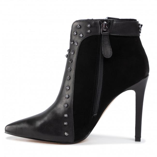 Magasított cipő GUESS - Oralie FL8OIE FAL09 BLACK/BLACK - Bokacsizmák - Csizmák és egyebek - Női EAcyC