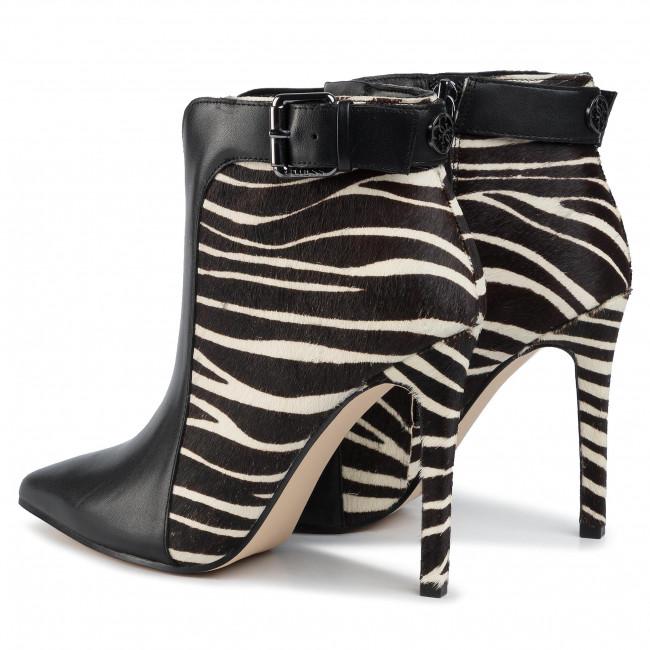 Magasított cipő GUESS - Oralia FL8OLI LEA09 ZEBRA - Bokacsizmák - Csizmák és egyebek - Női hrukk