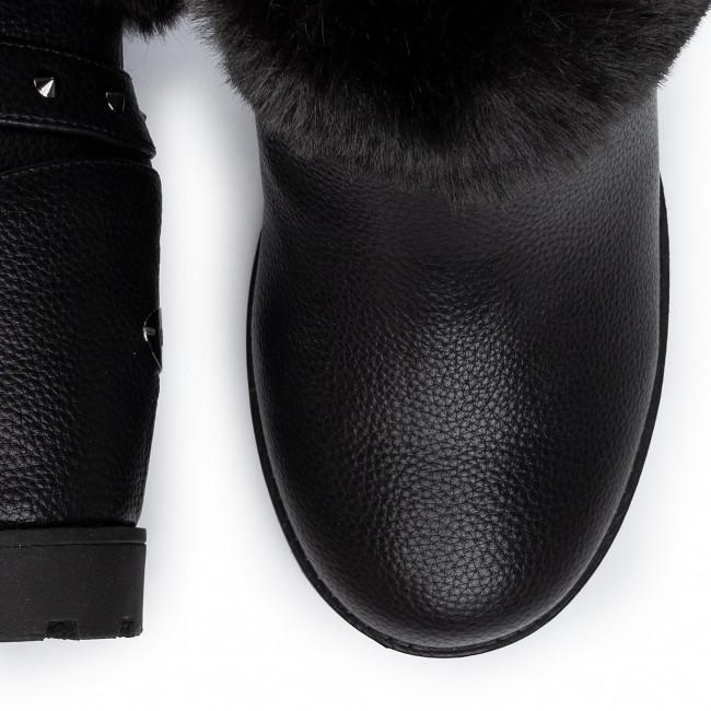 Magasított cipő GUESS - Pabla FL8PAB ELE10 BLACK - Bokacsizmák - Csizmák és egyebek - Női 5PQgU
