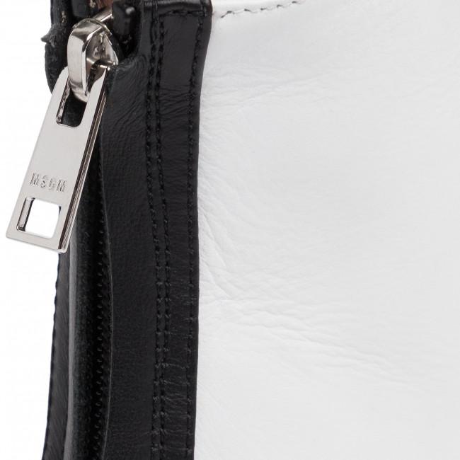 Magasított cipő MSGM - Tonchetto Donna 2741MDS6057 121 01 Fehér - Bokacsizmák - Csizmák és egyebek - Női Nsn3P