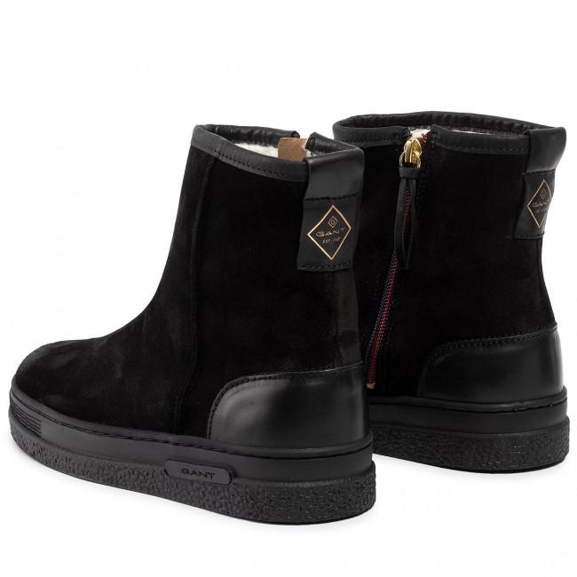 Magasított cipő GANT - Maria 19553946 Black G00 - Bokacsizmák - Csizmák és egyebek - Női ORSAv