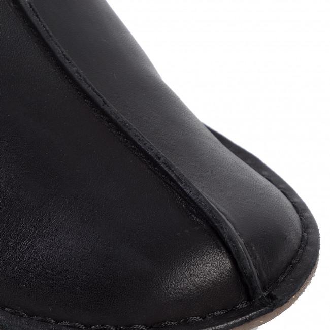Magasított cipő CLARKS - Funny Mid 261443214 Black/Comb - Bokacsizmák - Csizmák és egyebek - Női StgDb