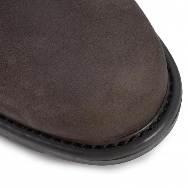 Magasított cipő CLARKS - Orinoco Dusk 261464184  Dark Grey Leather - Bokacsizmák - Csizmák és egyebek - Női MitMn