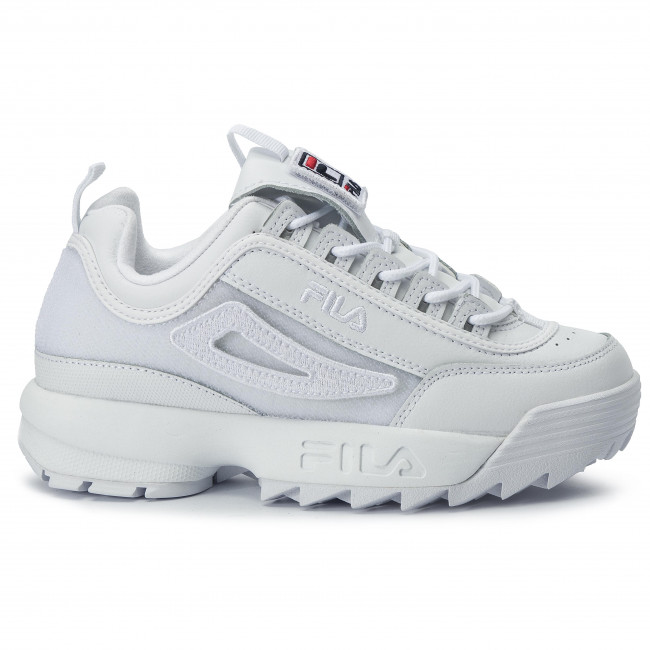 f6adbae223 Sportcipő FILA - Disruptor II Patches Wmn 5FM00538.100 White ...