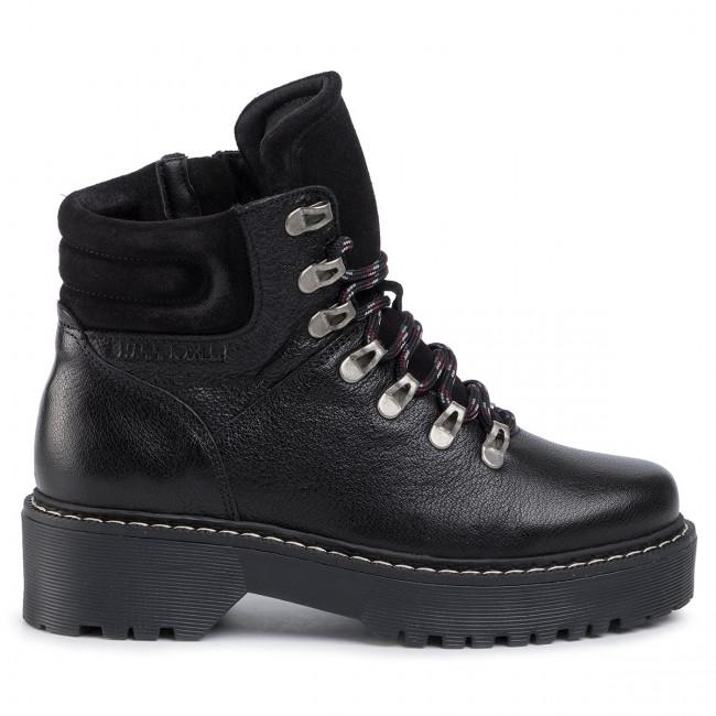 Magasított cipő BULLBOXER - 364501E6L Black - Bokacsizmák - Csizmák és egyebek - Női de6hR
