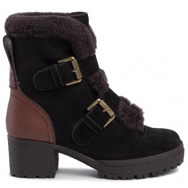Magasított cipő SEE BY CHLOÉ - SB33131A  Nero/Nat.Calf 514 - Bokacsizmák - Csizmák és egyebek - Női Ofxah