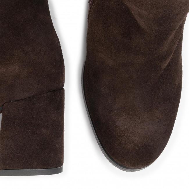 Magasított cipő BALDACCINI - 123150  Welur Czekolada - Bokacsizmák - Csizmák és egyebek - Női 7mpns