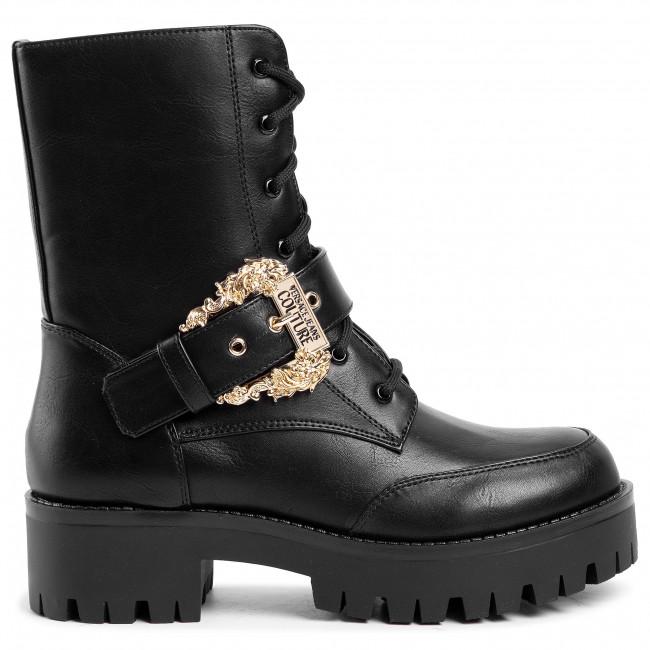 Magasított cipő VERSACE JEANS COUTURE - E0VUBS22 71254 899 - Bokacsizmák - Csizmák és egyebek - Női kFOHX