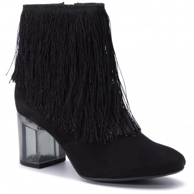402f0074d632 Magasított cipő TAMARIS - 1-25314-22 Black 001 - Magasított cipők ...