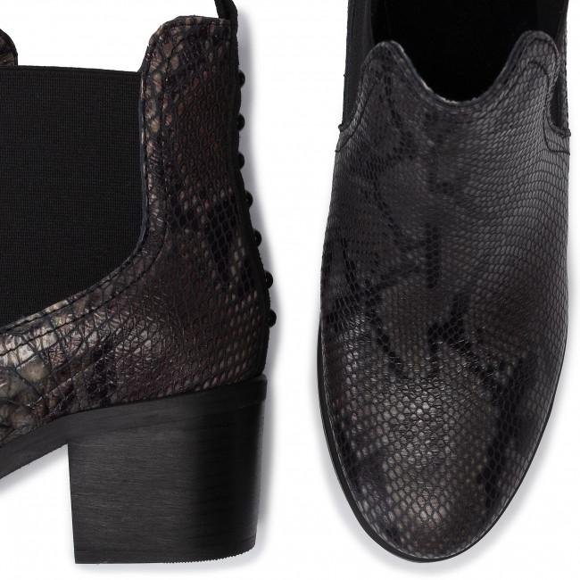 Magasított cipő CARINII - B5206 N68-H20-POL-861 - Bokacsizmák - Csizmák és egyebek - Női evqUk