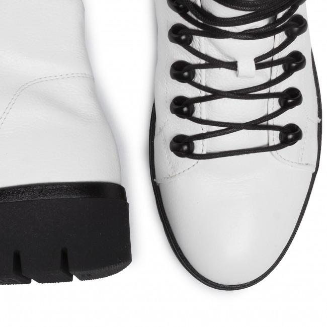 Magasított cipő GABOR - 32.855.50 Weiss(O.S/Mel.) - Bokacsizmák - Csizmák és egyebek - Női SjvJi