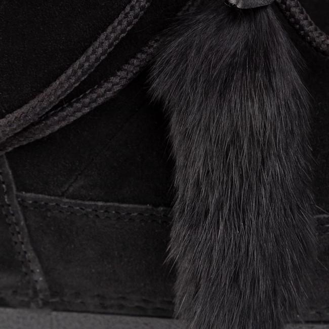 Cipő DSQUARED2 - Snow Boots SBW0008 01600001 2124 Black - Bokacsizmák - Csizmák és egyebek - Női INP1V
