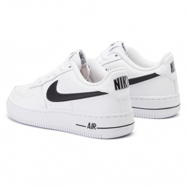cda28c73bb35 Cipő NIKE - Air Force 1-3 (Gs) AV6252 100 White/Black - Sneakers ...