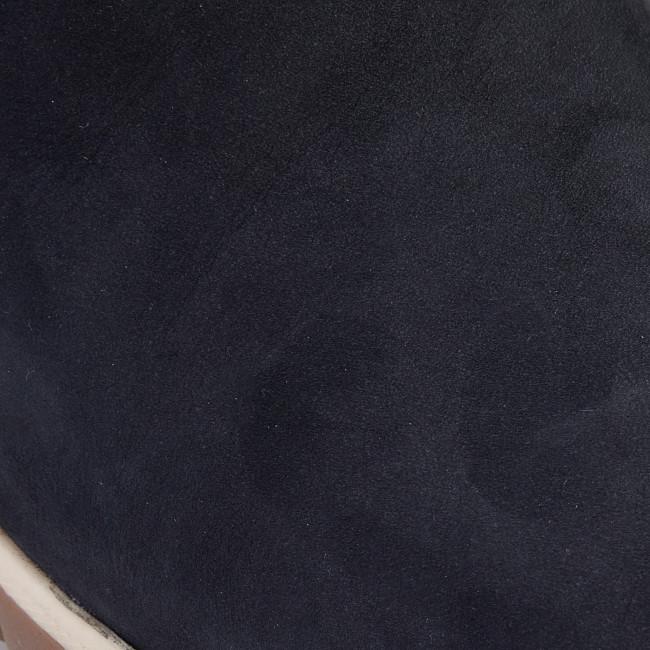 Magasított cipő CAPRICE - 9-26424-23 Ocean Nubuc 869 - Bokacsizmák - Csizmák és egyebek - Női DfXZq