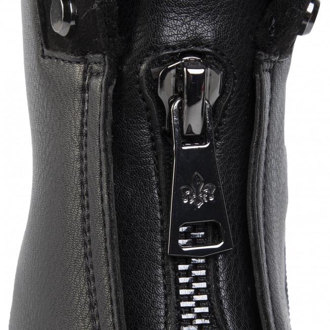 Magasított cipő RIEKER - Y9171-00 Schwarz - Bokacsizmák - Csizmák és egyebek - Női 2JwrE