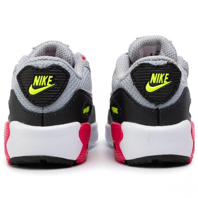 Shoes NIKE Air Max 90 Mesh Bt 833422 027 Wolf GreyWhite