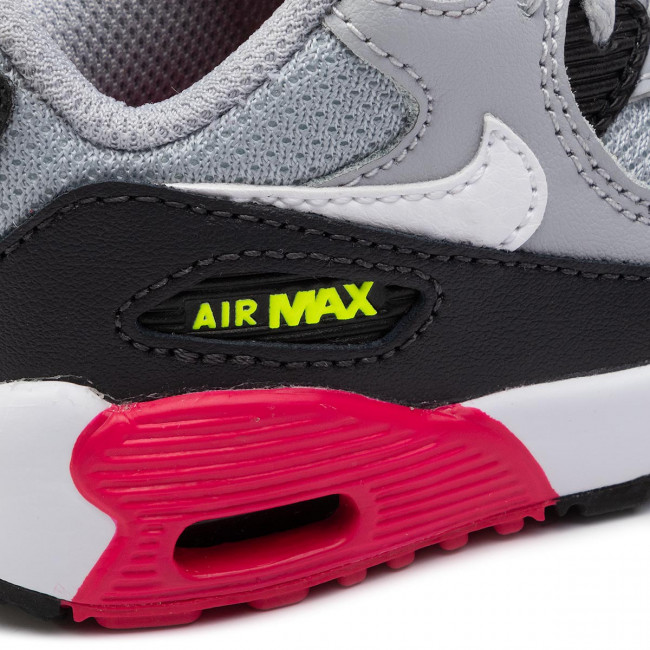Shoes NIKE Air Max 90 Mesh Bt 833422 027 Wolf GreyWhite