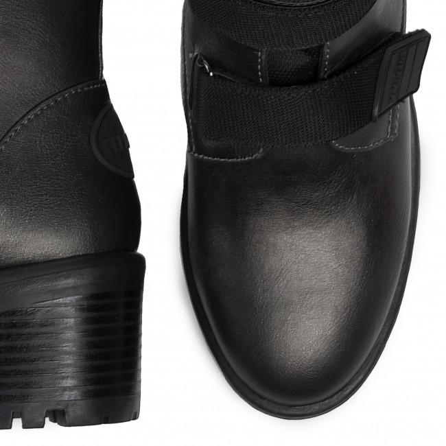 Magasított cipő PEPE JEANS - Fulham Strap PLS50371 Chrome 952 - Bokacsizmák - Csizmák és egyebek - Női V7PqV