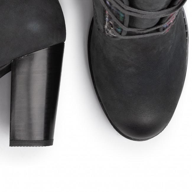Magasított cipő ANN MEX - 0462 11C+KOC Szürke - Bokacsizmák - Csizmák és egyebek - Női qvGXh