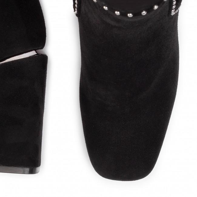 Magasított cipő BRUNO PREMI - Camoscio BY2503G Nero - Bokacsizmák - Csizmák és egyebek - Női iC9su