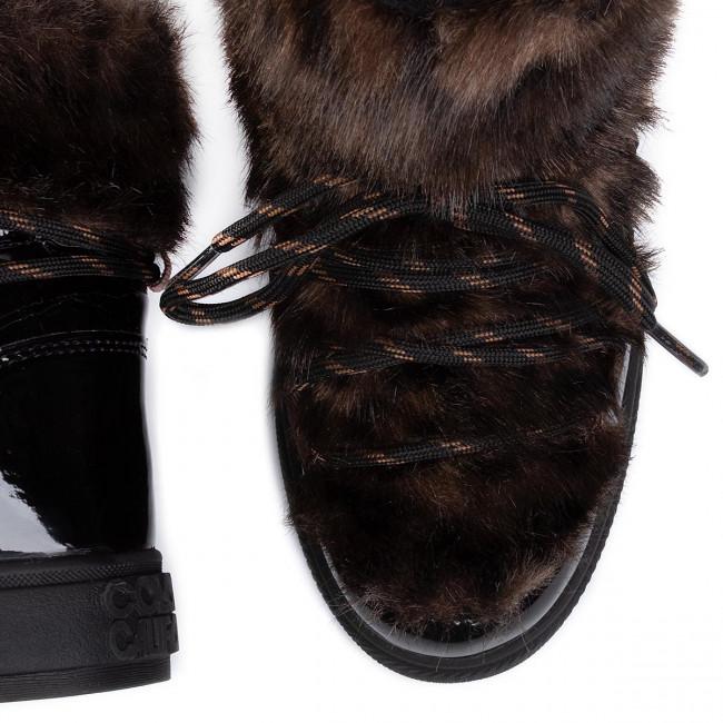 Magasított cipő COLORS OF CALIFORNIA - HC.YSNOW04 Black - Bokacsizmák - Csizmák és egyebek - Női QOXOp