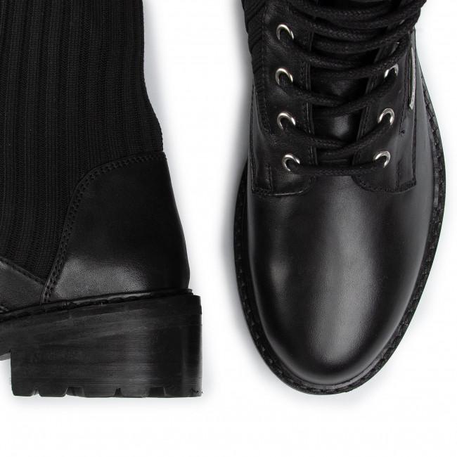 Magasított cipő LES TROPEZIENNES - Zina 22315 Black - Bokacsizmák - Csizmák és egyebek - Női Mo3XW