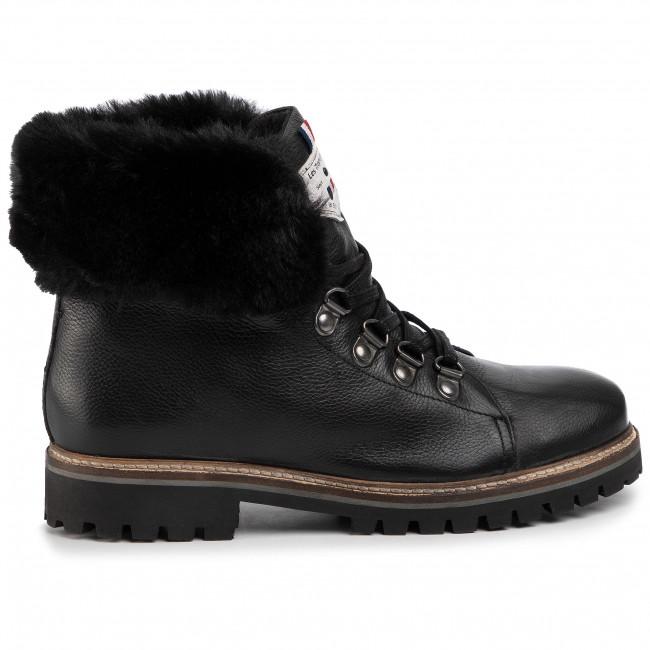 Magasított cipő LES TROPEZIENNES - Lacen 22368 Black - Bokacsizmák - Csizmák és egyebek - Női 9Hycd