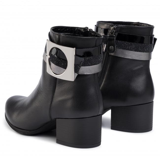 Magasított cipő MACIEJKA - 04283-01/00-3 Fekete - Bokacsizmák - Csizmák és egyebek - Női 1XMra