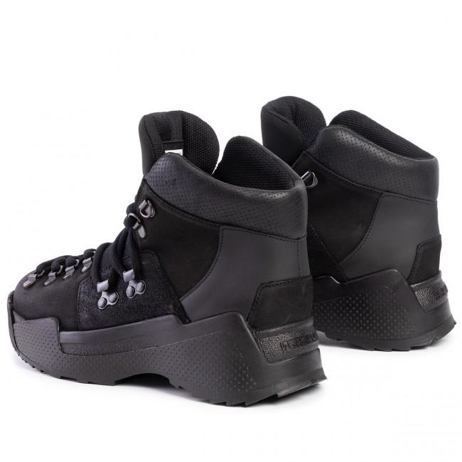 Magasított cipő NAPAPIJRI - Blanche NA4E11 Black 041 - Bokacsizmák - Csizmák és egyebek - Női fqBRM