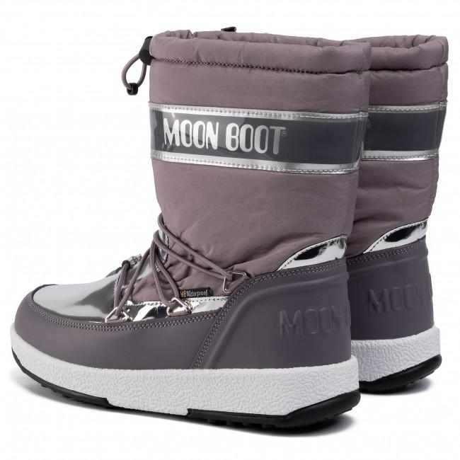 Hótaposó MOON BOOT - Jr Girl Soft Wp 34051700004 D Mauve - Hótaposó - Csizmák és egyebek - Női RuBJq