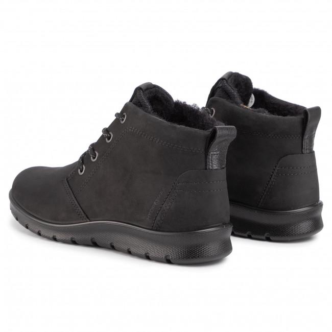 Magasított cipő ECCO - Babett Boot 21561312001 Black - Bokacsizmák - Csizmák és egyebek - Női XQ9rP