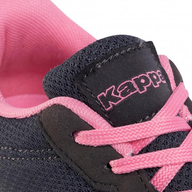 Sportcipő KAPPA - Tunes W 242195W Grey/Flamingo 1672 - Sneakers - Félcipő - Női