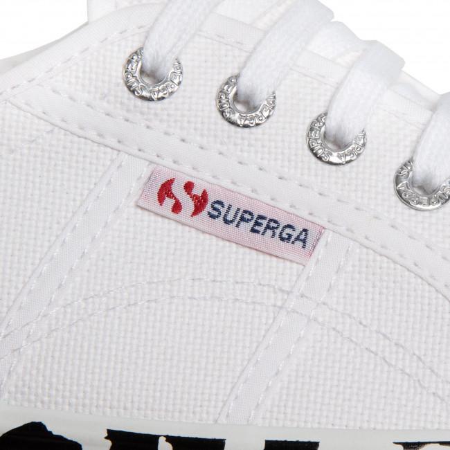 Teniszcipő SUPERGA - 2790 Cotw Printedfoxing S41157W White/Leopard - Tornacipők - Félcipő - Női