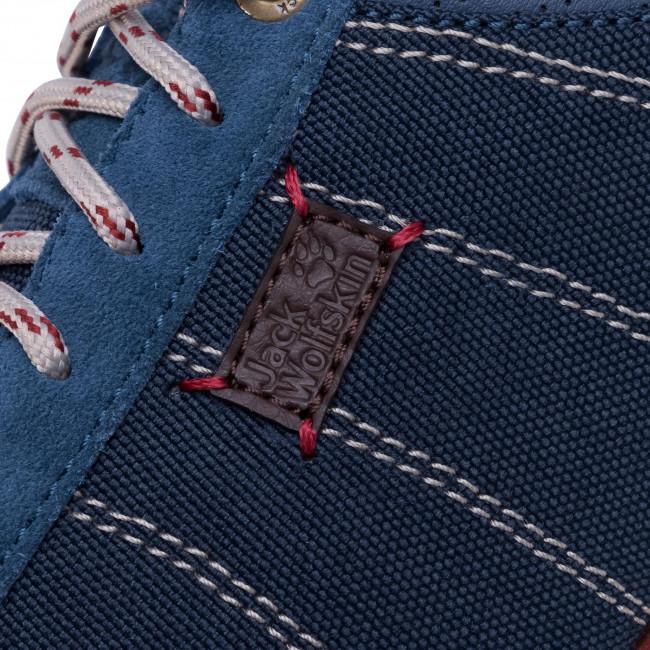 Sportcipő JACK WOLFSKIN - Mountian Dna Low W 4039331 Blue/Red - Sneakers - Félcipő - Női 7bP00