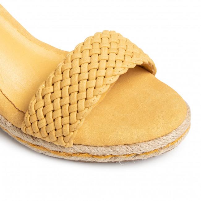 Espadrilles REFRESH - 69485  Yellow - Espadrilles - Papucsok és szandálok - Női mMIne