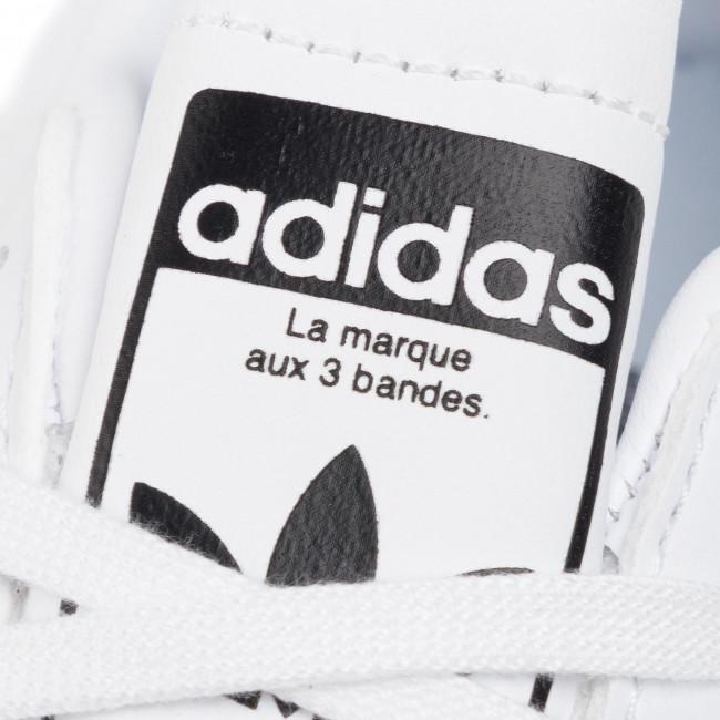 Cipő adidas - Team Court J EF6815 Ftwwht/Cblack/Ftwwht - Sneakers - Félcipő - Női U3fKc