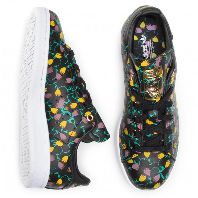 Cipő adidas - Stan Smith W EH2036 Cblack/Ftwwht/Goldmt - Sneakers - Félcipő - Női K3uGp
