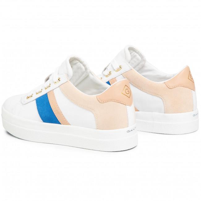 Sportcipő GANT - Avona 20531500 Br. Wht/Elect.Blue G286 - Sneakers - Félcipő - Női yOIJA
