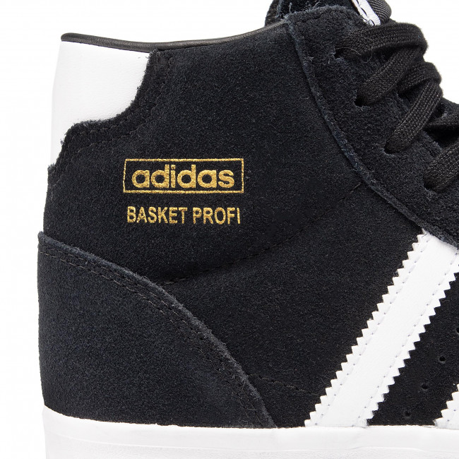 Cipő adidas - Basket Profi J FY1058 Cblack/Ftwwht/Goldmt - Sneakers - Félcipő - Női 1w7GV