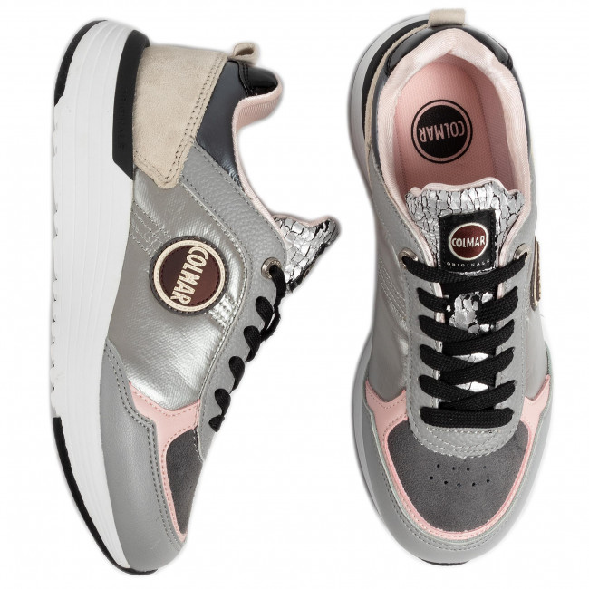 Sportcipő COLMAR - Travis X-1 Moonlight 124 Gray - Sneakers - Félcipő - Női RSHti