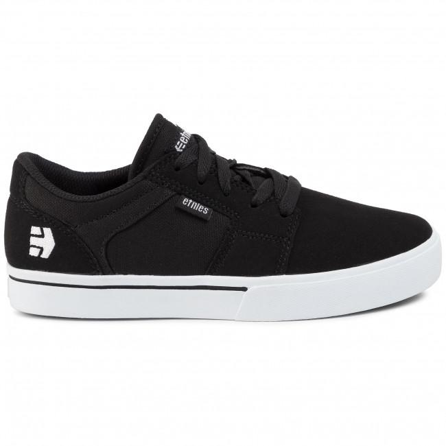 Sportcipő ETNIES - Barge Ls 4301000134 Black/White 976 - Sneakers - Félcipő - Női vAZgG