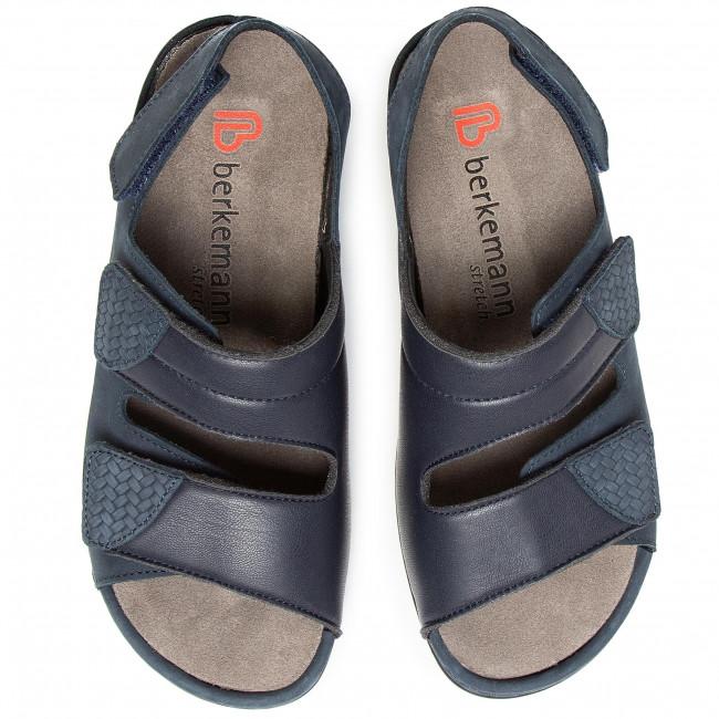 Szandál BERKEMANN - Sofie 01020 Atlantic 339 - Magasított sarkú cipők - Papucsok és szandálok - Női iLPgX