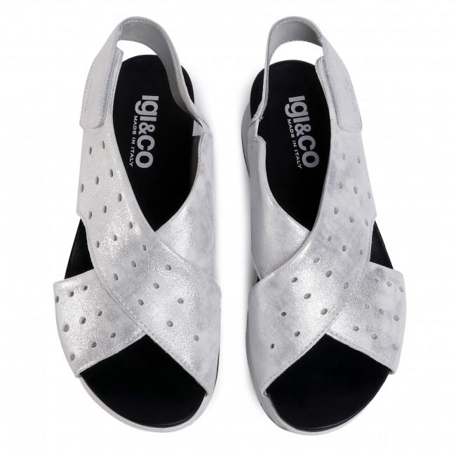 Szandál IGI&CO - 5175711 Bian - Magasított sarkú cipők - Papucsok és szandálok - Női YdEYF