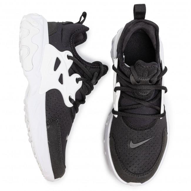 Cipő NIKE - React Presto (Gs) BQ4002 001  Black/White - Sneakers - Félcipő - Női Y9jfX
