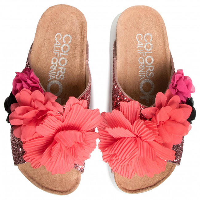 Papucs COLORS OF CALIFORNIA HC.BES025 Pink