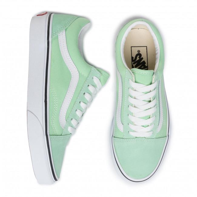 Teniszcipő VANS Old Skool VN0A4U3BWKO1 Green AshTrue White