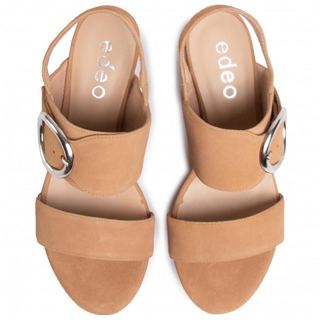 Szandál EDEO - 3552-1100  Rudy - Magasított sarkú cipők - Papucsok és szandálok - Női 12HSE