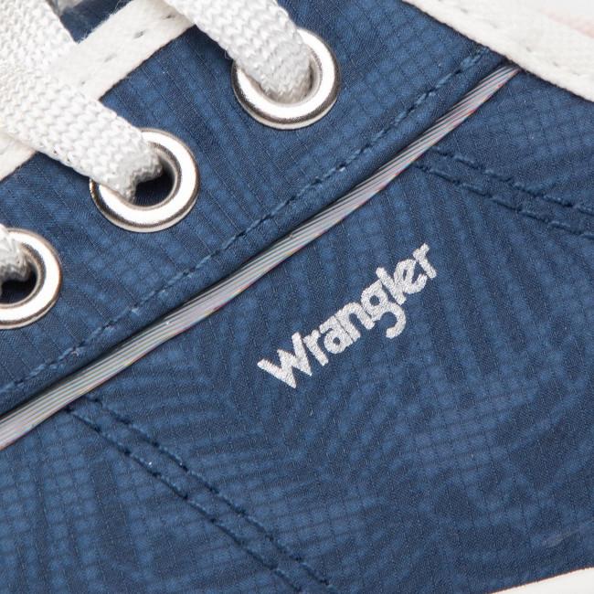 Teniszcipő WRANGLER - Juno WL01640A Navy 016 - Tornacipők - Félcipő - Női bvSWz