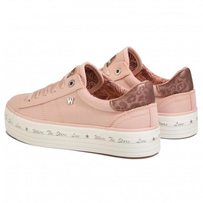 Sportcipő WRANGLER - Java WL01645A Rose 080 - Sneakers - Félcipő - Női 22Msd